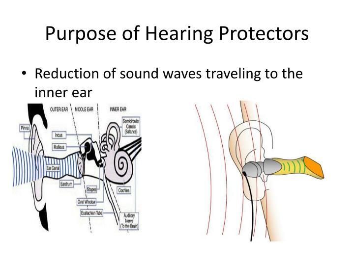 Purpose of Hearing Protectors
