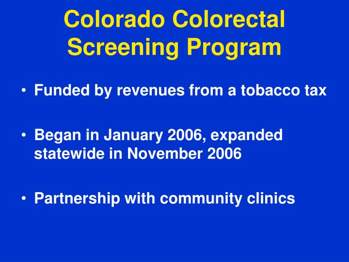 Colorado Colorectal