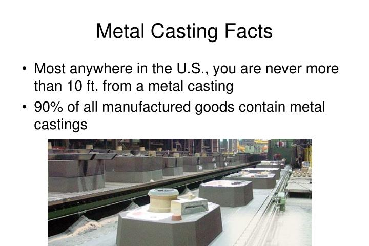 Metal casting facts