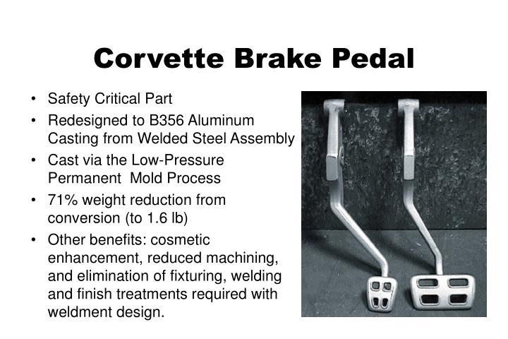 Corvette Brake Pedal