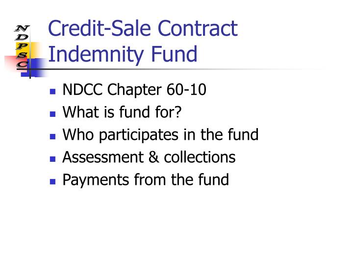 Credit-Sale Contract