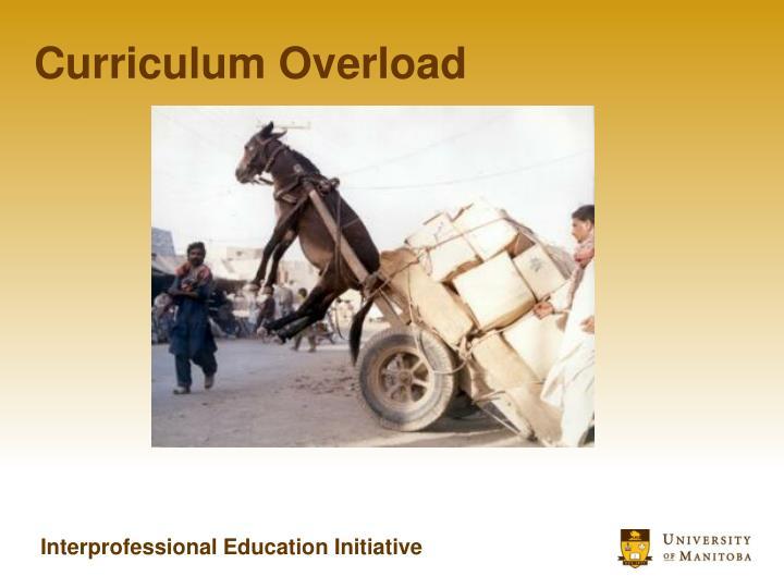 Curriculum Overload