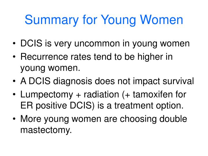 Summary for Young Women