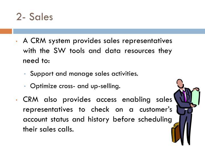 2- Sales