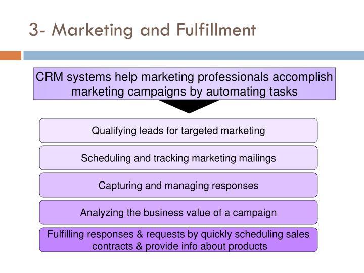 3- Marketing