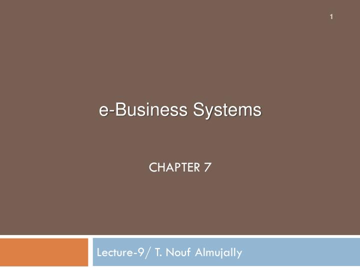 Lecture 9 t nouf almujally