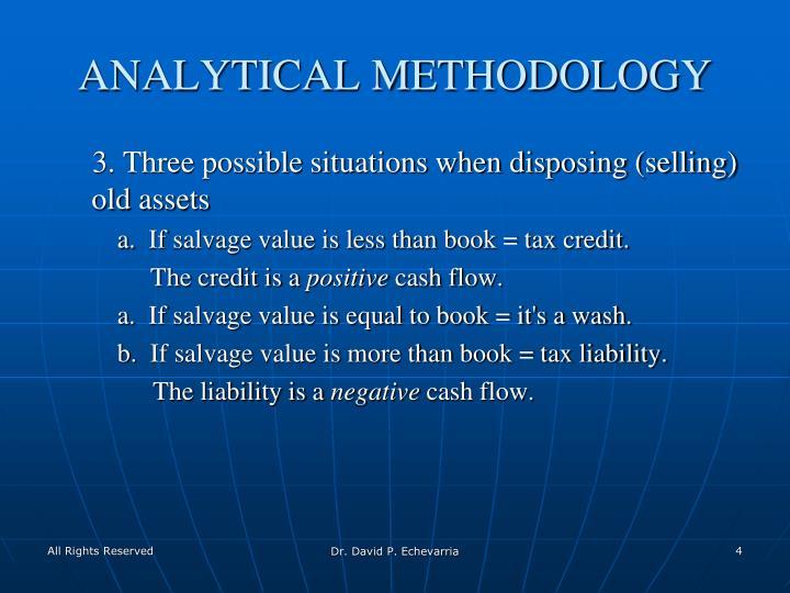 ANALYTICAL METHODOLOGY