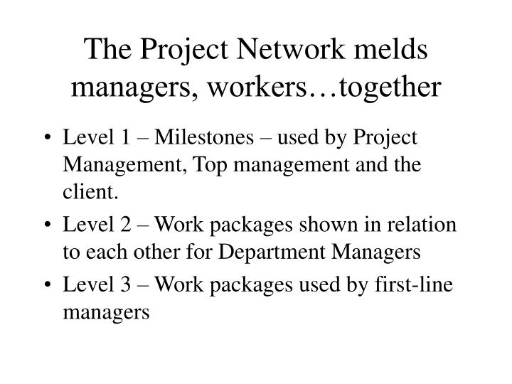 The Project Network melds managers, workers…together