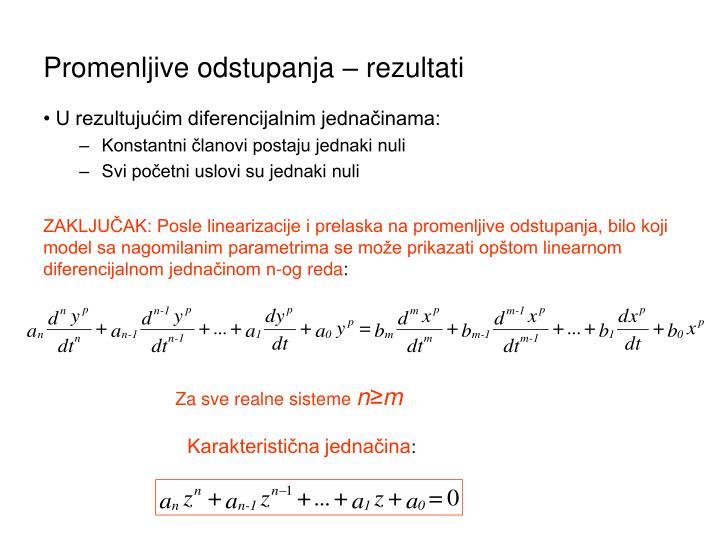 Karakteristična jednačina