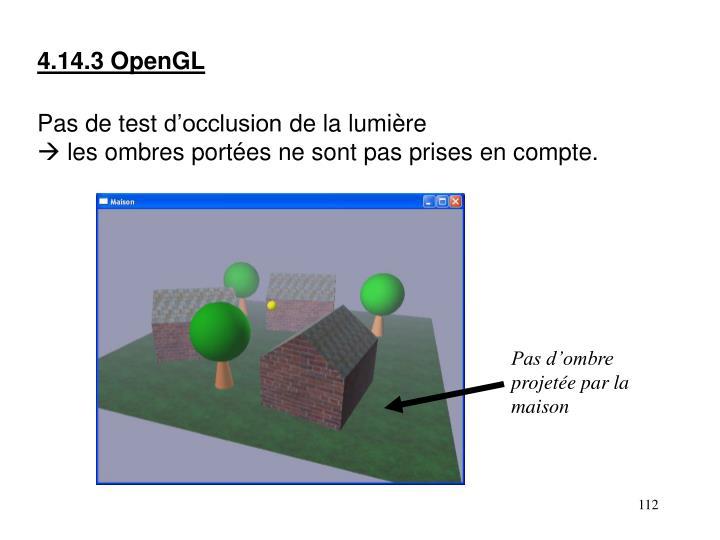 4.14.3 OpenGL