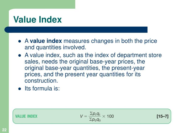 Value Index