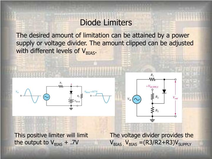 Diode Limiters