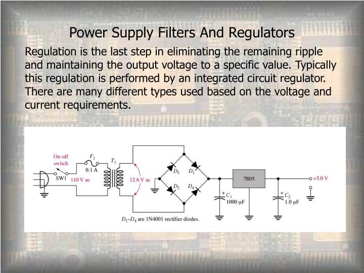 Power Supply Filters And Regulators