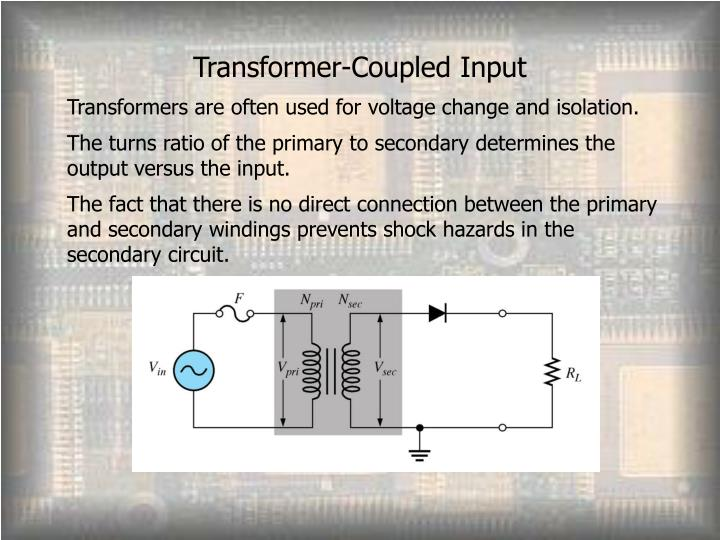 Transformer-Coupled Input