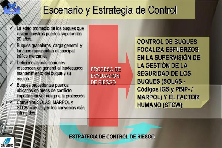 Escenario y Estrategia de Control