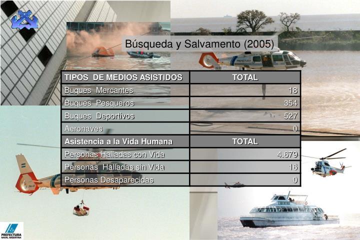 Búsqueda y Salvamento (2005)