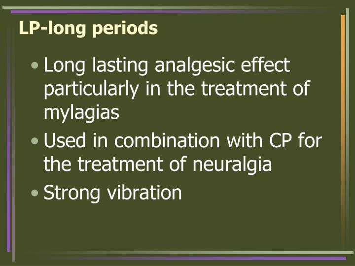 LP-long periods