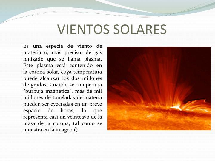 VIENTOS SOLARES