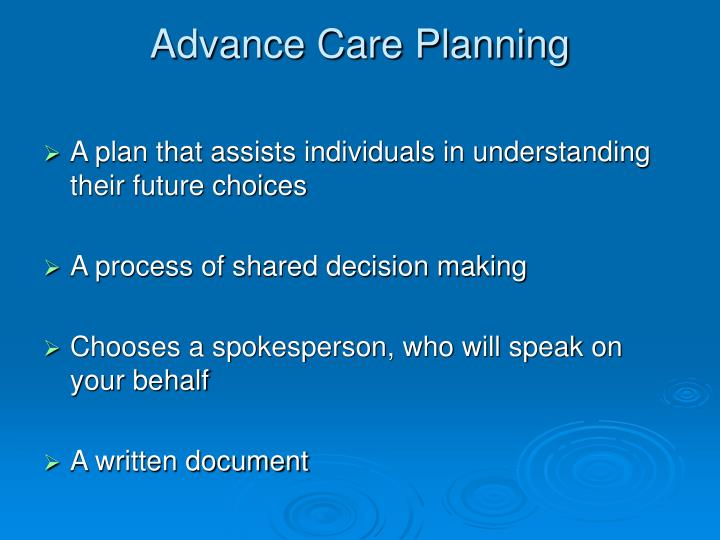 advance care planning Journeycare's advance care planning community initiatives are supported through bob's 2001, 2007 and 2012 rides for 3 reasons and jan gierlach's 2017 ride for 3 reasons other resourses illinois department of public health – information on advance directives available in illinois.