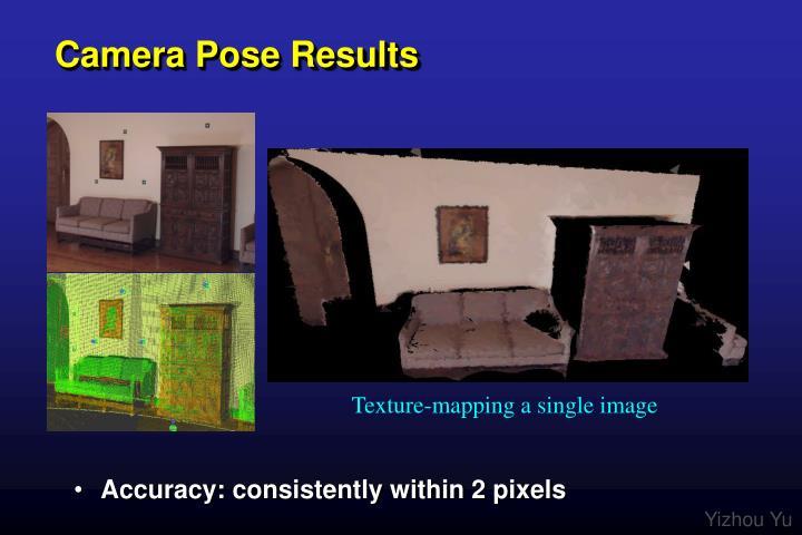 Camera Pose Results