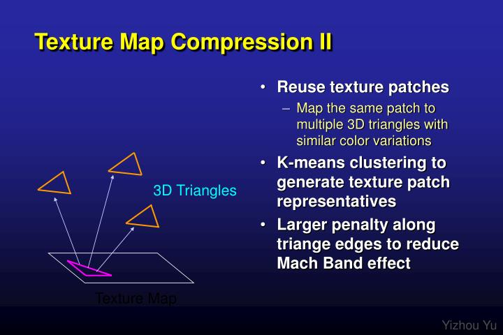 Texture Map Compression II