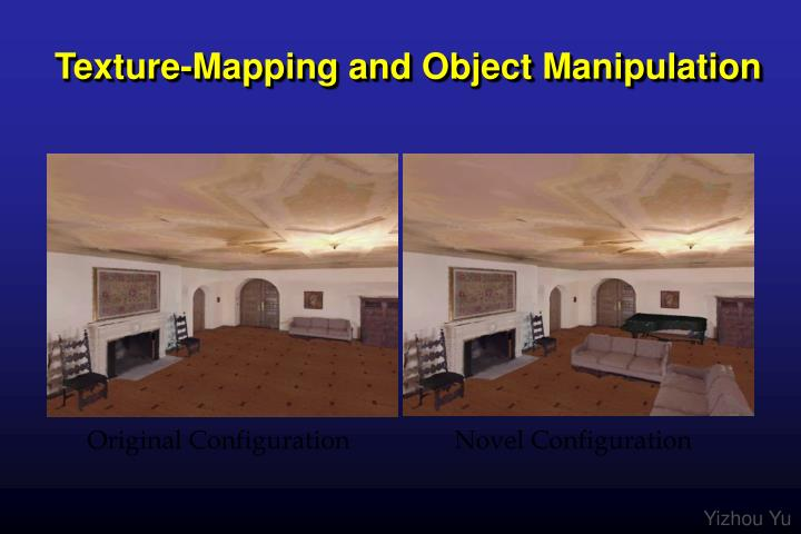 Texture-Mapping and Object Manipulation