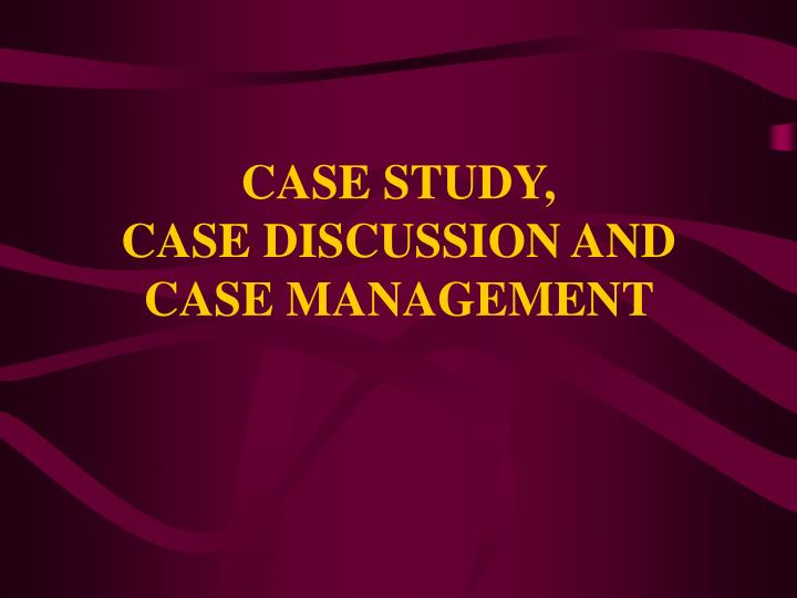 study case discussion Qualitative case study methodology provides tools for researchers to study complex phenomena within their contexts when the approach is applied correctly, it becomes.