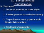 ii the articles of confederation2