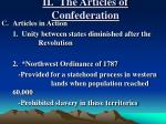 ii the articles of confederation3