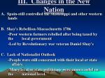 iii changes in the new nation