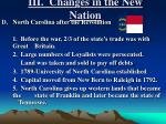 iii changes in the new nation1