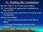 iv drafting the constitution6