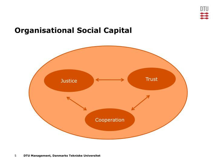 Organisational Social Capital