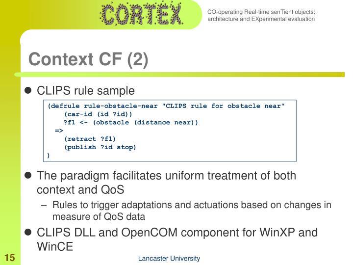 Context CF (2)