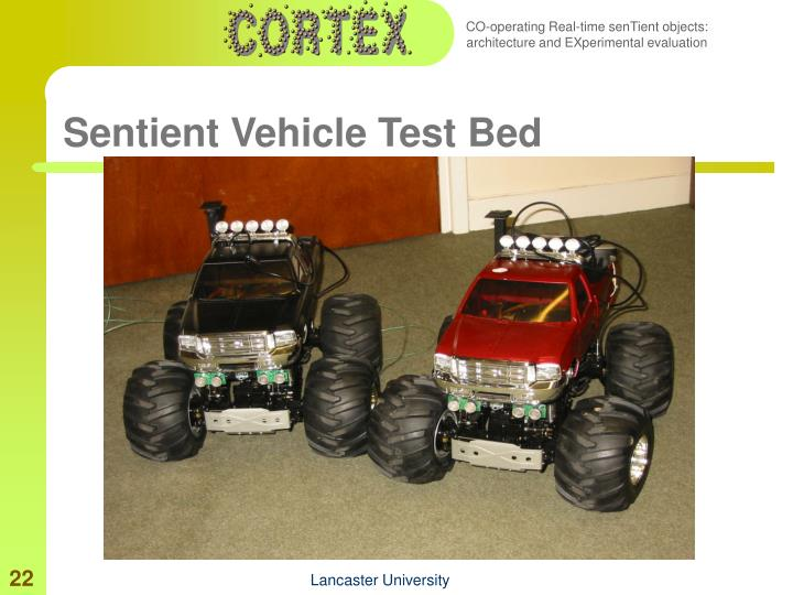 Sentient Vehicle Test Bed