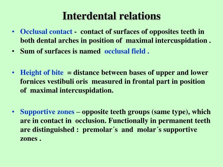 Interdental