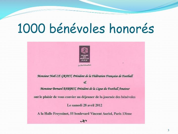 1000 b n voles honor s