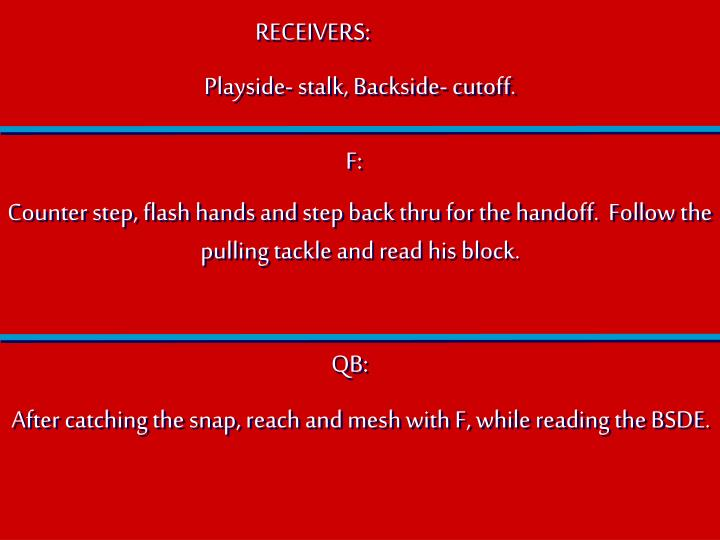 RECEIVERS: