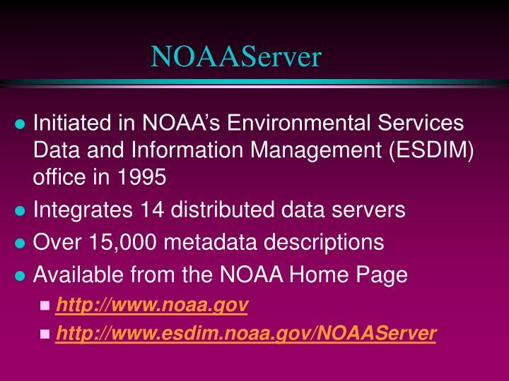 NOAAServer