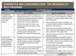 strengths and considerations the masshealth mco program1