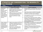 strengths and considerations the masshealth pcc program2