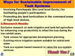 ways for sustainable improvement of tank systems1