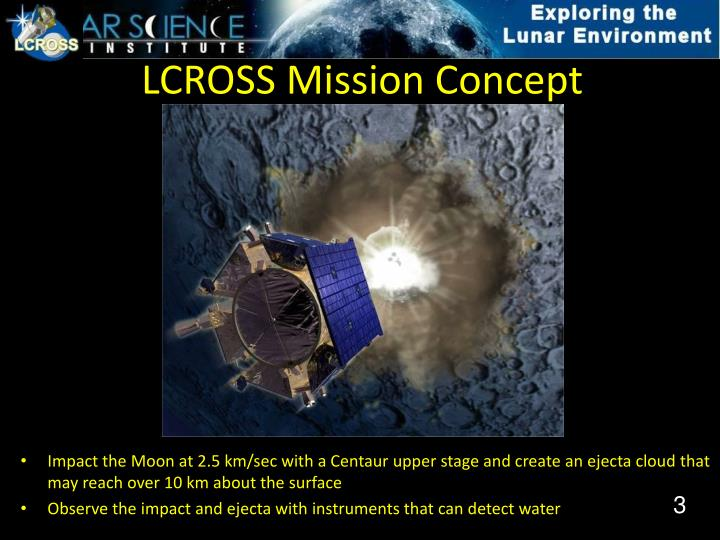 Lcross mission concept