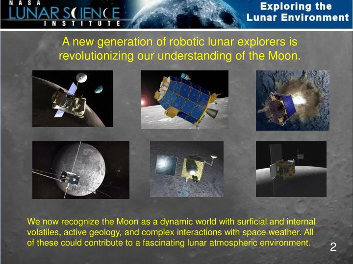 A new generation of robotic lunar explorers is
