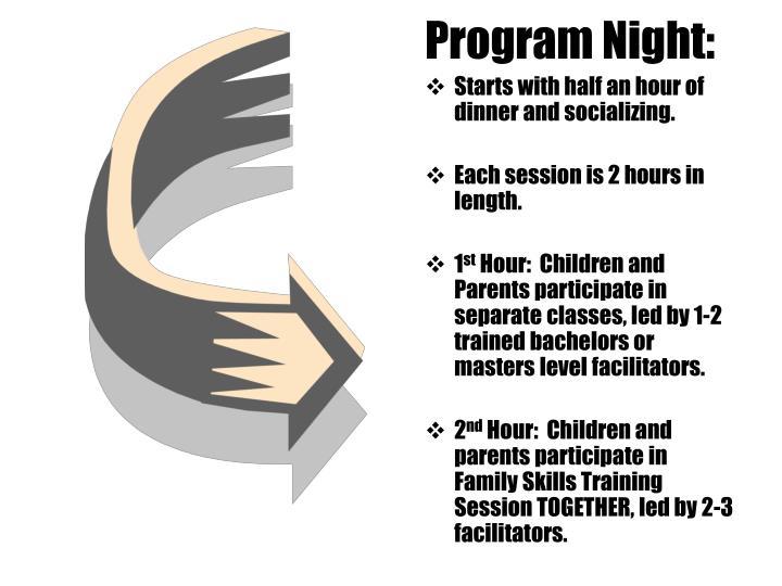 Program Night: