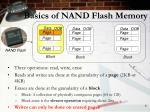basics of nand flash memory