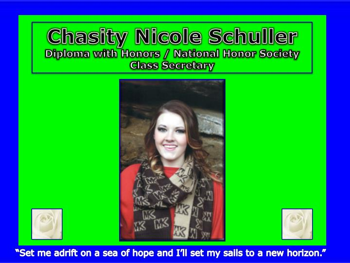 Chasity Nicole Schuller