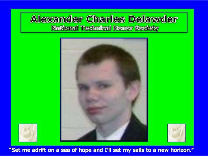 Alexander Charles Delawder