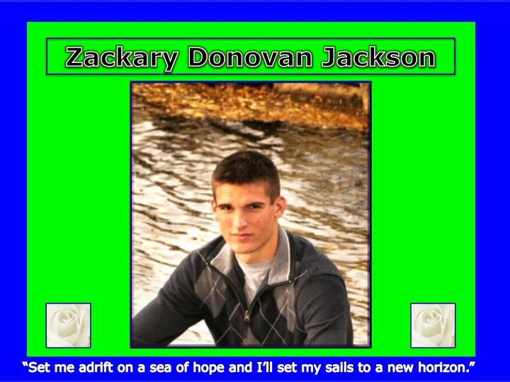 Zackary Donovan Jackson