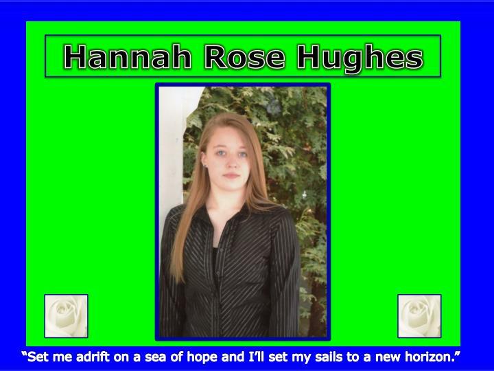 Hannah Rose Hughes